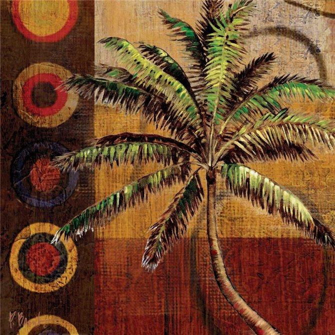 Contemporary Palm I