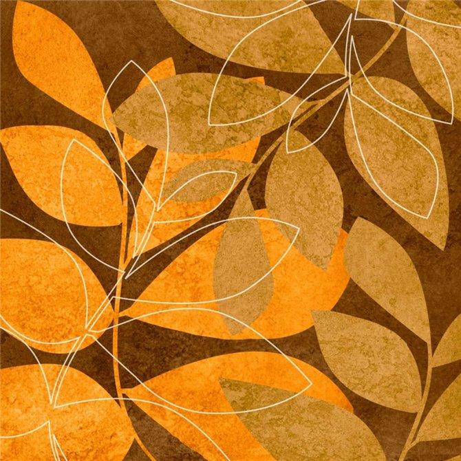Orange Leaves II