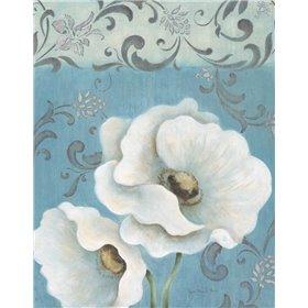 Poppies on Blue II