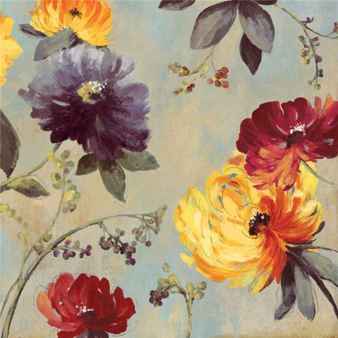 Whimsical Floral I