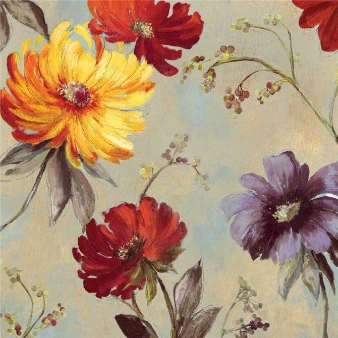 Whimsical Floral II