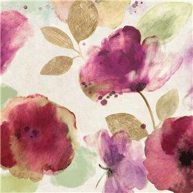 Watercolour Florals I