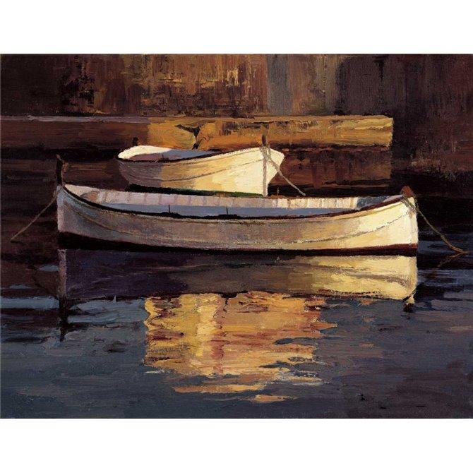 Barcas al Atardecer