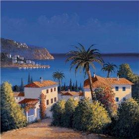 Mediterranean Morning Shadows I