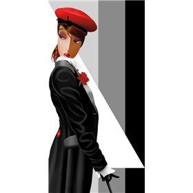 Lauren in Uniform