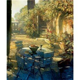 Sunlit Terrace Crillon le Brave