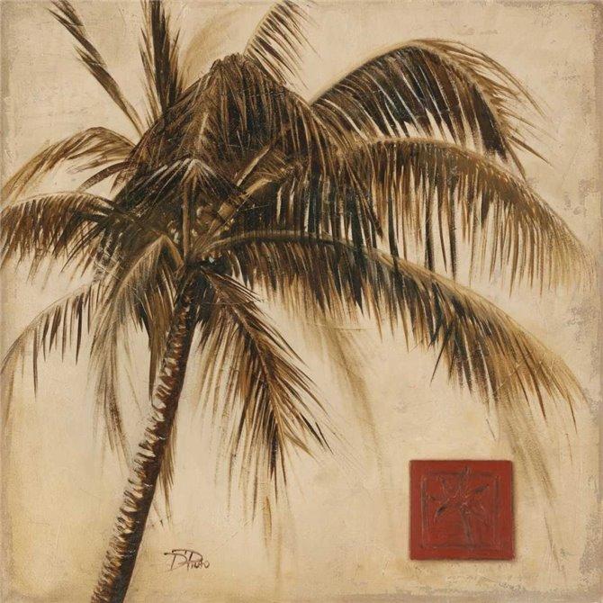 Sepia Palm I