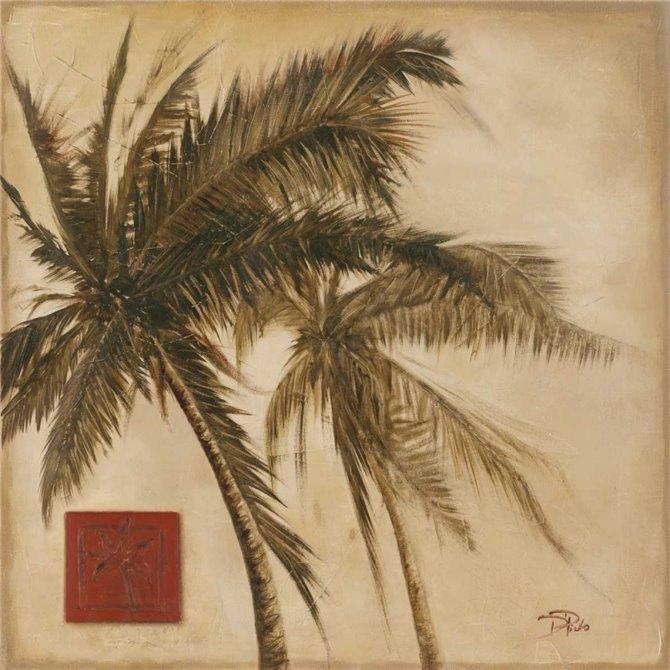 Sepia Palm II