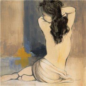 Waking Woman I - blue