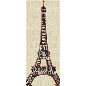 Paris City Words I