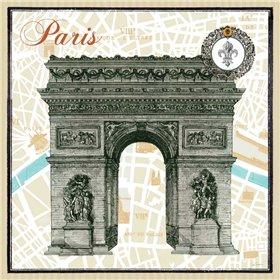 Monuments des Paris Arc