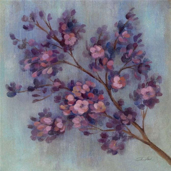 Twilight Cherry Blossoms II