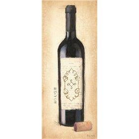 Vintage Rouge Bottle