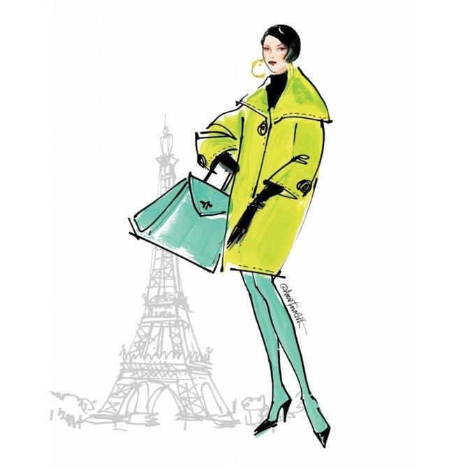 Colorful Fashion II - Paris