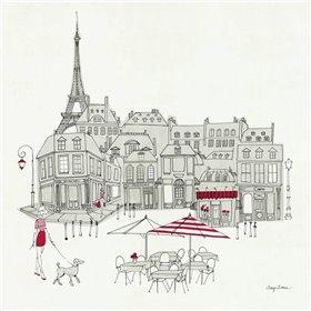 World Cafe  II - Paris Red