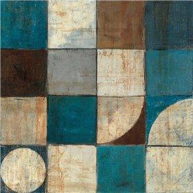 Tango Detail I - Blue Brown