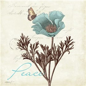 Touch of Blue I - Peace