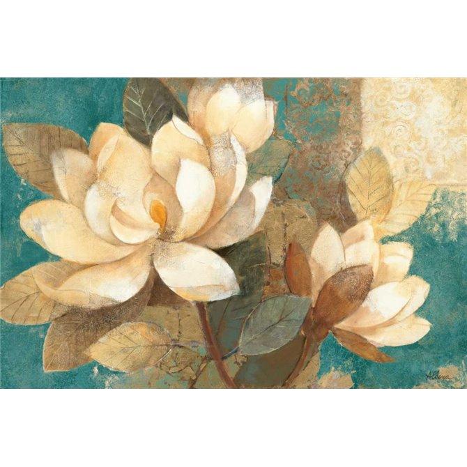 Turquoise Magnolias