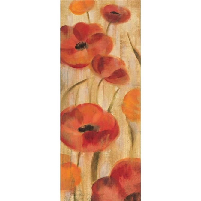 May Floral Panel I