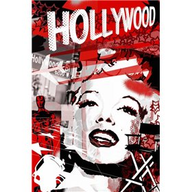 Marilyn Red Hollywood