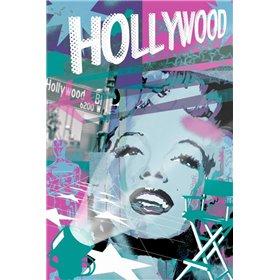 Marilyn Blue Hollywood