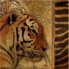 Elegant Safari II - Tiger
