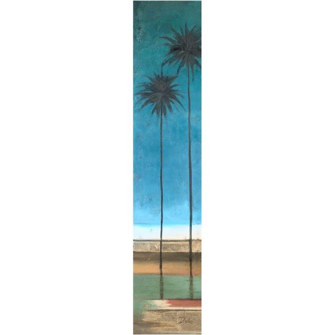Thin Palms I - In Coastal Colors