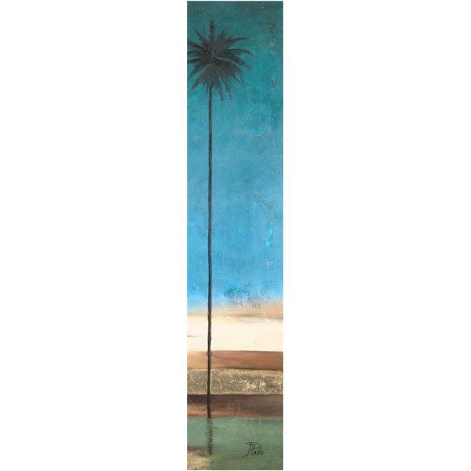 Thin Palms II - In Coastal Colors
