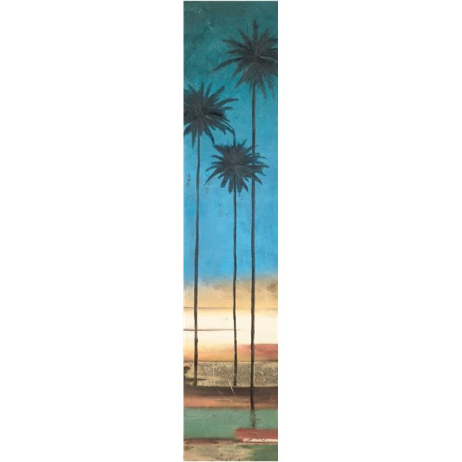 Thin Palms III - In Coastal Colors