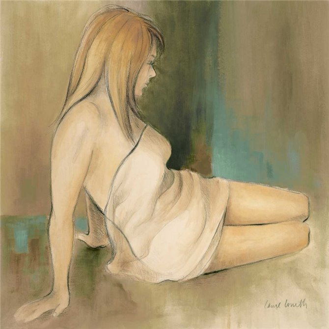 Waking Woman II - green