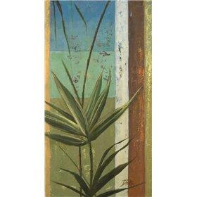 Bamboo and Stripes I