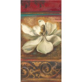 Red Eclecticism with Magnolia