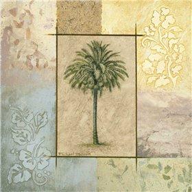Palm Woodcut II