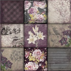 Floral 9patch