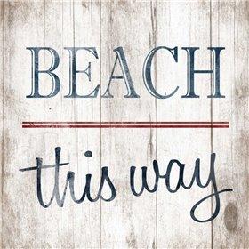 Beach no arrow