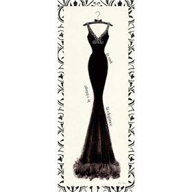 Couture Noir Original I with Border