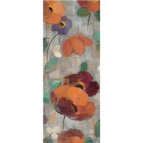 Urban Floral Panel II