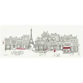 World Cafe Panel II - Paris Red