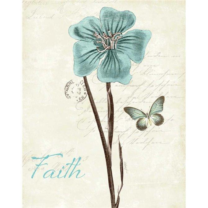 Slated Blue III Faith