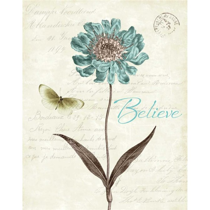 Slated Blue IV Believe