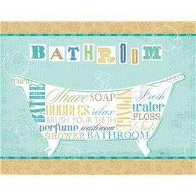 Bathroom Words I