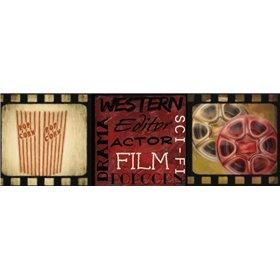POPCORN AND FILM REEL