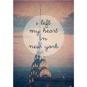 I left my heart in NY