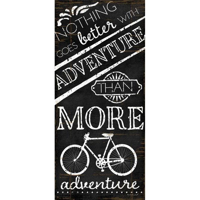 Nothing Goes Better with Adventure