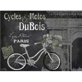 Paris Bike on Chalk Border II