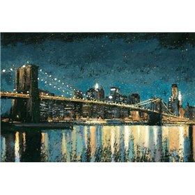 Bright City Lights Blue I