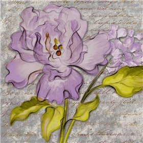 Purple Florals II