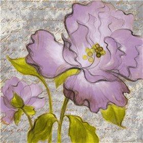 Purple Florals I