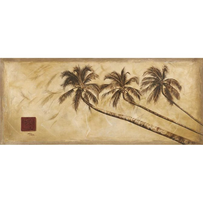 Sepia Palms