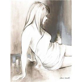 Sketched Waking Woman II